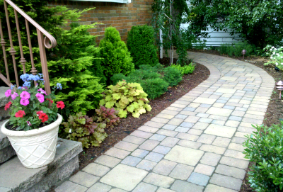Paving Stone Walkways